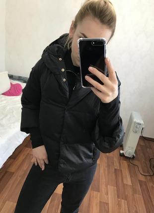 Тёплая куртка пух перо twin ser twinset twin-set