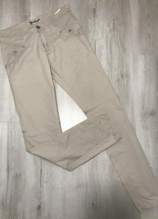 Светло бежевые мужские джинсы cardellino jeans 068 (33)