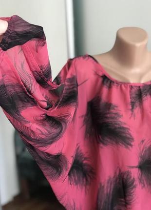 Рубашка блузка большого размера летучая мышь dorothy perkins