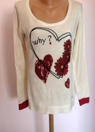 Бомбезный свитерок от бренда desigual. / m- l/