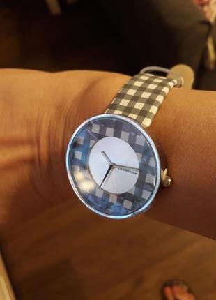 Италия ламбретта кожаный браслет часы женские