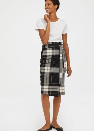 Шикарная юбка на запах ассиметричного кроя от h&m, p. 42