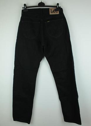 Оригинальные качественные джинсы от американского бренда lee portland black straight jeans