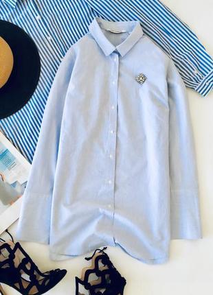 Шведская хлопковая рубашка в полоску kapp ahl рубашка хлопок
