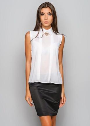 Женская блузка блуза рубашка из шифоновой ткани molegi
