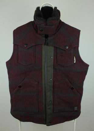 Превосходная оригинальная жилетка g-star raw new colorado lumber vest