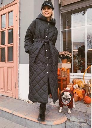 Пальто стеганое -распродажа