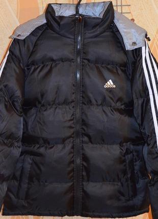 Мужская зимняя куртка adidas puff jacket