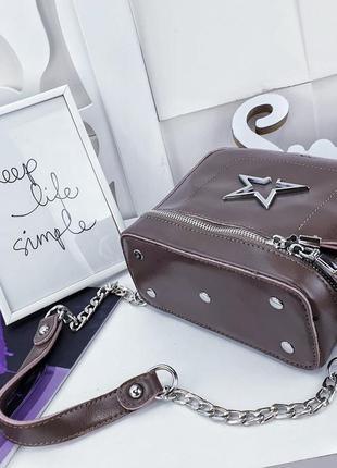 Клатч сумка кожа через плече2 фото