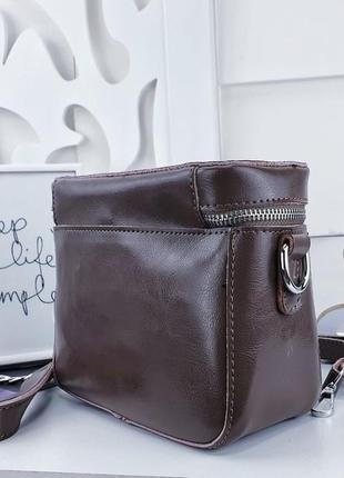 Клатч сумка кожа через плече3 фото