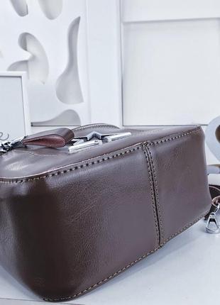Клатч сумка кожа через плече5 фото