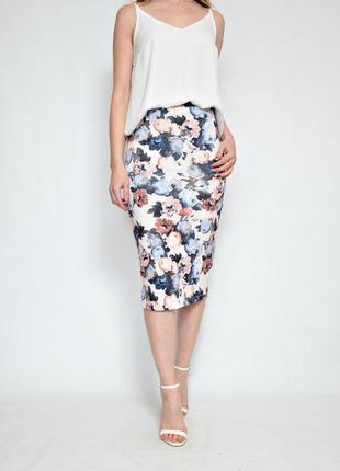 В наличии юбка в цветочный принт papaya