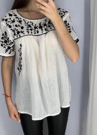 Блуза с вышивкой  george