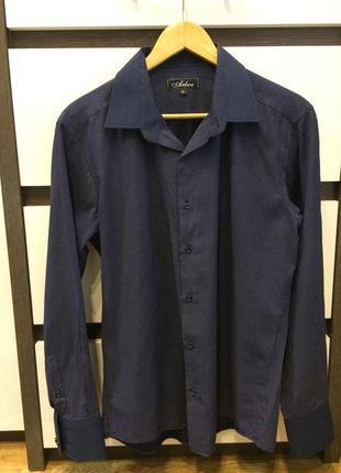 Рубашка arber в мелкий горошек arber