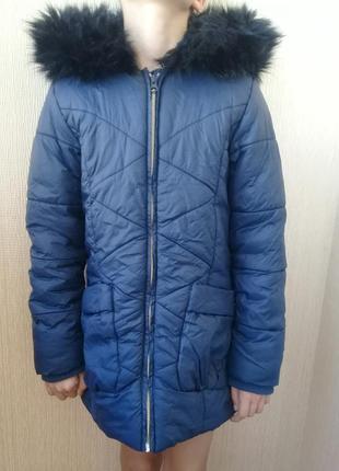 Зимняя куртка на девочку 11 лет