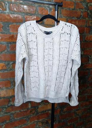 Свитер пуловер джемпер с фактурной вязкой atmosphere