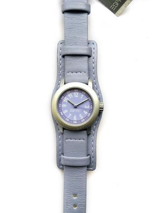 Esprit сиреневые часы из сша с витрины кожа механизм sii