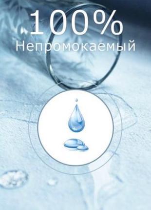 Наматрасник 60*140*12 непромокаемый аквастоп 60х140х12