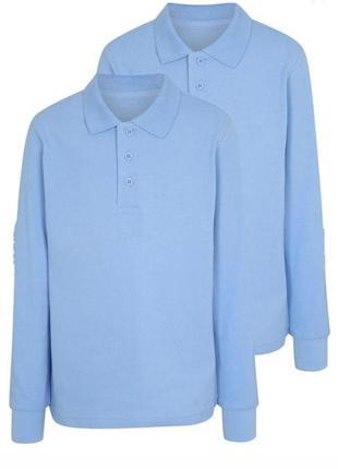 Рубашка, футболка поло с длинным рукавом george