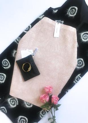 Пудровая юбка calvin klein. размер l/xl. 100% оригинал!