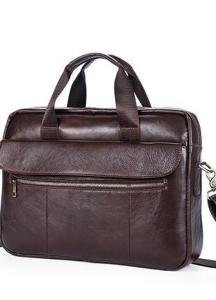 Сумка для ноутбука, портфель кожаный
