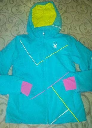 Куртка горнолыжная мембранная подростковая tm spyder