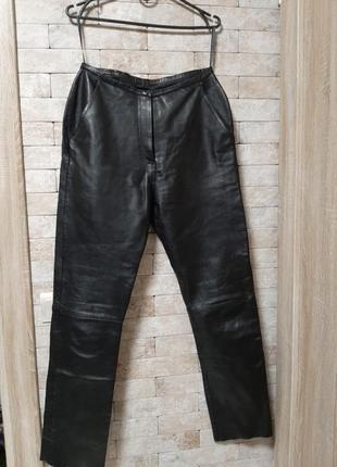 Кожаные брюки германия