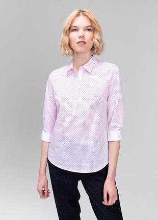 Рубашка блузка розовая ostin