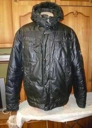 Очень качественная зимняя куртка-пилот blackwolf непродуваемая и непромокаемая