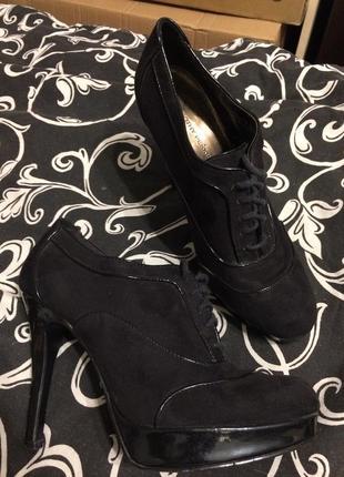 Dorothy perkins ботильоны ботинки замшевые