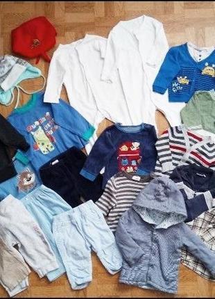 Пакет одежды для новорожденных на от 3 месяцев