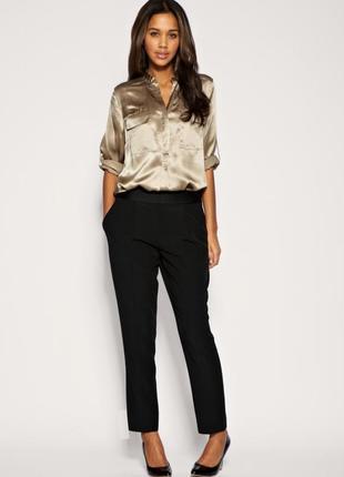 Стильные зауженные брюки с карманами atmosphere uk16 новые