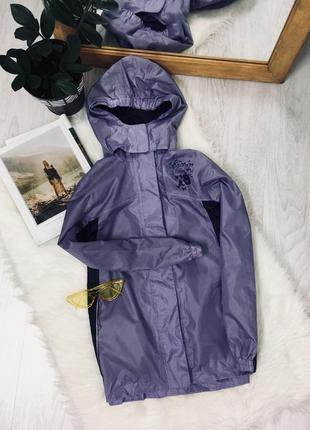 Куртка вітровка дощовик crivit outdoor