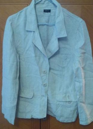 Льняной пиджачок