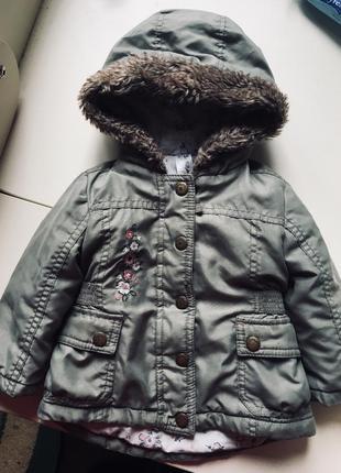 Куртка george 9-12 міс