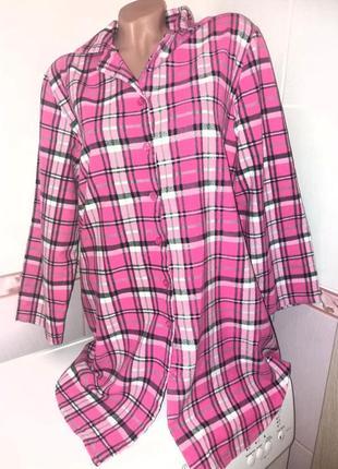 Платье-рубашка 52-54 для дома