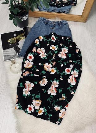 Блуза в квітковий принт від papaya🖤🖤🖤