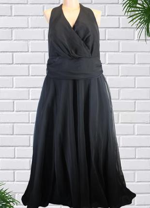 Нарядное вечернее пышное платье большого размера 62-64 (uk28).