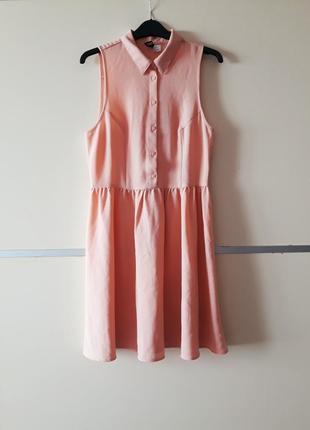 Нежное  платье рубашка 1+1=3