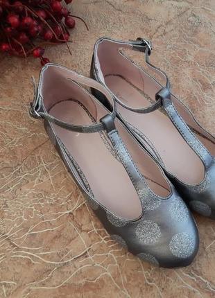 Туфли балетки нарядные от jasper conran