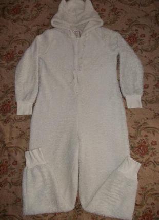 Пижама слип кигуруми комбинезон овечка р. м