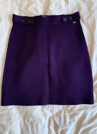 Новая фиолетовая юбка waggon paris