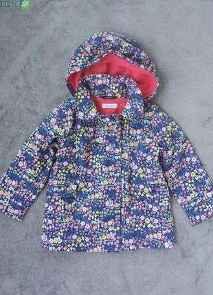 Куртка вітровка на 3-4 років з флісовою підкладкою