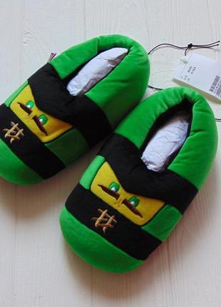 H&m. размер 30-31 или 11-12.5. новые яркие домашние тапочки для мальчика