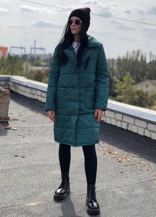 Куртка пальто оверсайз дутик