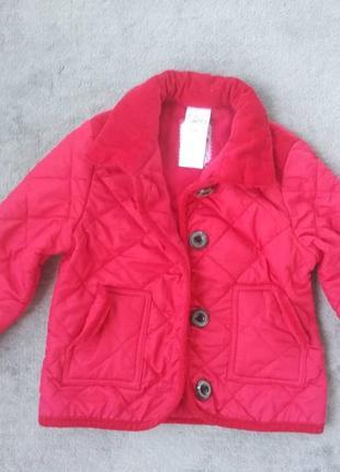 Куртка парка на 2-3 р з флісовою підкладкою