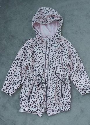 Куртка парка вітровка на 4-6 р з підкладкою