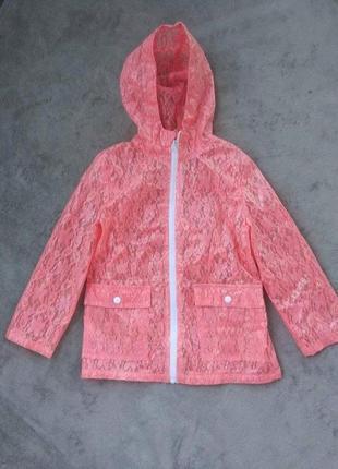 Куртка дощовик вітровка на 6-8 р