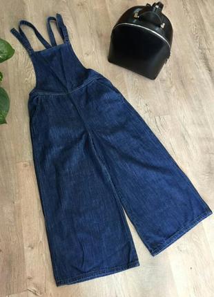 %%% всього 2 дні до 23.09 джинсовий комбінезон кюлоти4 фото