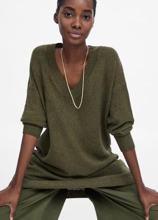 Новое платье свитер zara